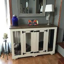 dog crates furniture style. Fancy Dog Furniture Alluring Crates That Look Like And Best Farmhouse Style Kennel .