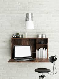 a wall mounted desk is such a space saver multi functional convenient