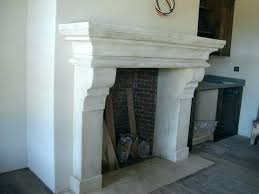 how to install stone around fireplace wood