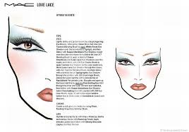 1700 makeup face charts mac pro cosmetics manual