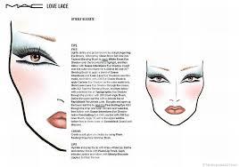 1700 makeup face charts mac pro cosmetics manual
