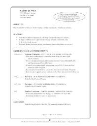Resume Samples For High School Students With Work Experience High