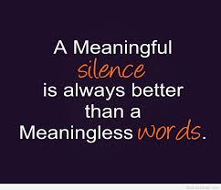 Silence Funny Quotes