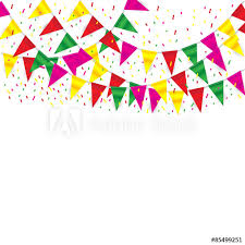 Celebrate Banner Celebrate Banner Party Flags With Confetti Buy This Stock