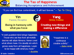 happiness what is happiness and how to be happy by vadim  tao of happiness yin and yang balancing acceptance and achievement