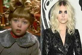 how the grinch stole christmas cindy lou now. Plain Stole Taylor Momsen U0027How The Grinch Stole Christmasu0027 And How The Christmas Cindy Lou Now T