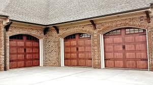 brown garage doors with windows. Dark Garage Doors With Arched Windows Oak Brown