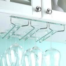 hanging stemware rack ikea under cabinet wine glass rack found it at hanging wine glass rack