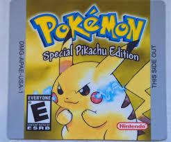 Gameboy Pokemon Yellow Version Replacement Label Decal Sticker