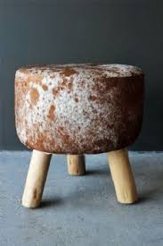 canyon cowhide stool 10s