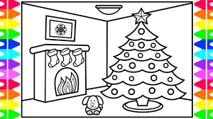 It is said that a poor farmer had three girls, struggling to. Happy Holidays How To Draw A Christmas Tree For Kids Christmas Coloring Pages For Kids Youtube