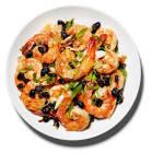 black beans with shrimp