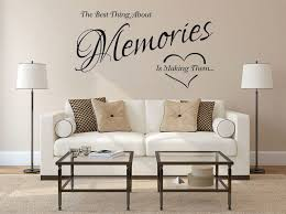 the best thing about memories is making them vinyl wall sticker modern decal