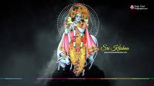Lord Krishna Wallpaper 1366x768 HD Free ...