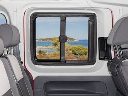flyout for sliding windows vw caddy 4 3