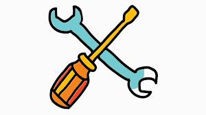 Transparent Animated Tools Icon Cartoon Illustration Hand Drawn Animation Transparent