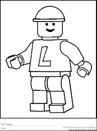 Free Lego Coloring Pages To Print Green Ninja Coloring Pages For