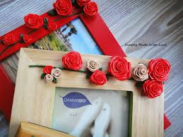 how to decorate photo frames with modeling caly tutorial gift idea you
