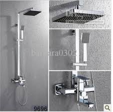 rain shower head wall mount. 2018 Wall Mounted Square Brass Faucet Rain Shower Set From Barbara0302, $170.51 | Dhgate.Com Head Mount