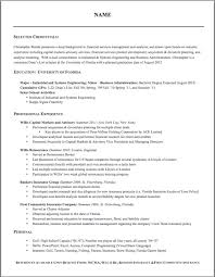 Proper Resume Layout Resume Layout 2017