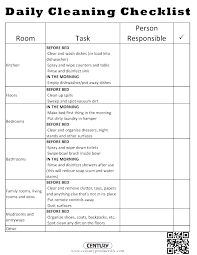 Bathroom Checklist Template Commercial Cleaning Restroom
