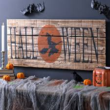 Halloween Witch Wood Plank Sign | Wood planks, Plank and Witches
