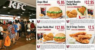here are 9 from kfc with savings up to 12 you can use till september 11 great deals singapore