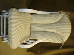 CJ s Cozy Cushions Glider Rocker