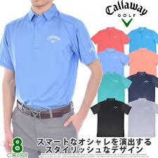 Stock Disposal The Size Usa Direct Import That Stylish Calloway Callaway Denim Jacquard Short Sleeves Polo Shirt Has A Big In The Spring And Summer