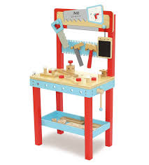 pretend play workbench with tools and 25 accessories