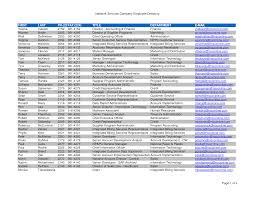Employee Phone List Under Fontanacountryinn Com