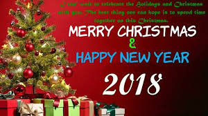 quotes merry christmas and happy new year 2018