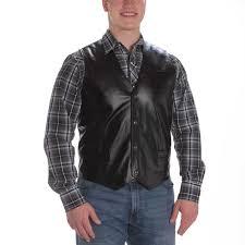 men s western vests