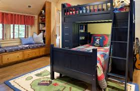 view in gallery spacious pirate themed boys bedroom in dark navy blue blue themed boy kids bedroom