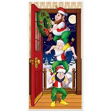 Decorate office door for christmas Doorway Christmas Door Covers Decoration Amazoncom Office Door Christmas Decorations Amazoncom