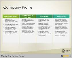 powerpoint company presentation company profile powerpoint presentation template mvap us