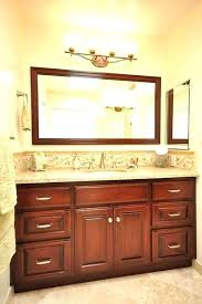 above mirror lighting. Bathroom Above Mirror Lighting Vanity Placement Intended For Bathrooms Decor 12 E