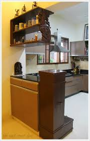 Indian Semi Open Kitchen Designs Masterful Mixing Home Tour Kitchen Cabinet Remodel