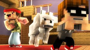 Minecraft WHO S YOUR DADDY AGGRESSIVE DOG with Sturmwaffel.