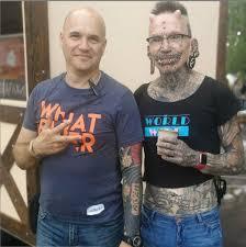 на фестиваль Tattoo сollection 2018 пришёл самый пирсингованный
