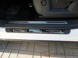 <b>Накладки на внешние дверные</b> пороги для VW Tiguan 2017+ | 4 ...