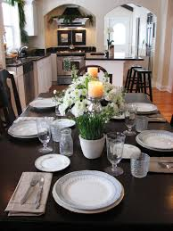 Kitchen Table Centerpiece Design Ideas