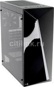 Купить <b>Корпус ATX AEROCOOL</b> Shard A-BK-v, черный в интернет ...