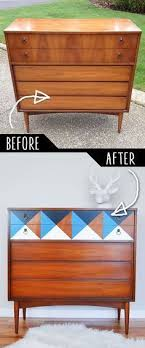 cool painted furniture. DIY Furniture Makeovers - Refurbished And Cool Painted Ideas For Thrift Store Makeover Projects | Coffee Tables, Dressers