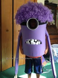 coolest homemade purple evil minion costume from deable me costumes and