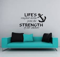 get quotations wall decals nautical anchor symbol quote sign words quotes kids nursery boys wall vinyl decal stickers on wall decal quotes for nursery with cheap nursery wall decals quotes find nursery wall decals quotes