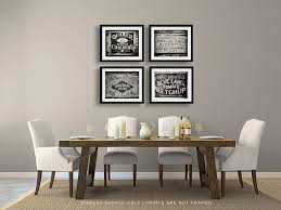 rustic kitchen print or canvas art set black and white photography