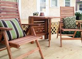 furniture Frightening Wayfair Wood Patio Furniture Stimulating