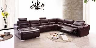 Living Room Deals Living Room Leather Sectional Sofa With Recliner Sofas Recliners
