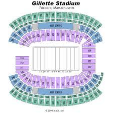 Gillette Stadium Seating Chart Breakdown Of The Gillette Stadium Seating Chart New